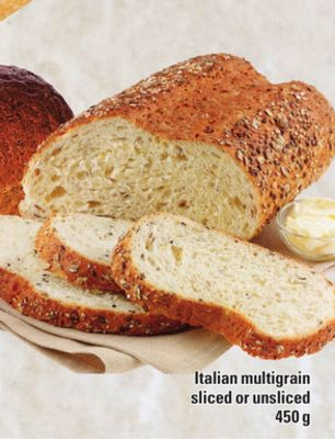 Italian Multigrain Sliced Or Unsliced - 450 g