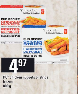 PC Chicken Nuggets Or Strips - 800 g