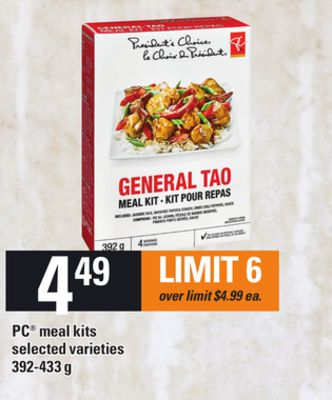 PC Meal Kits - 392-433 g