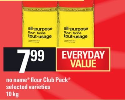 No Name Flour Club Pack - 10 Kg