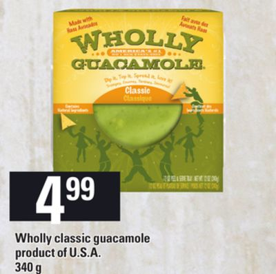 Wholly Classic Guacamole - 340 g