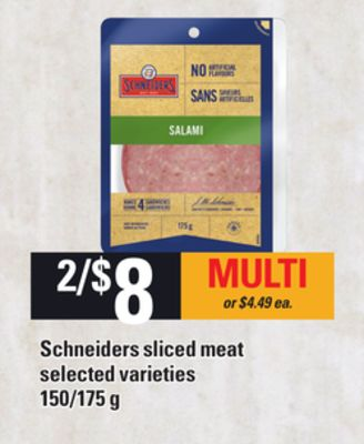 Schneiders Sliced Meat - 150/175 g