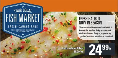 Fresh Halibut Fillets