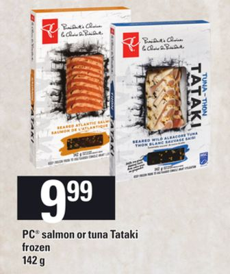 PC Salmon Or Tuna Tataki - 142g