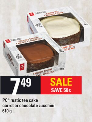 PC Rustic Tea Cake - 610 g