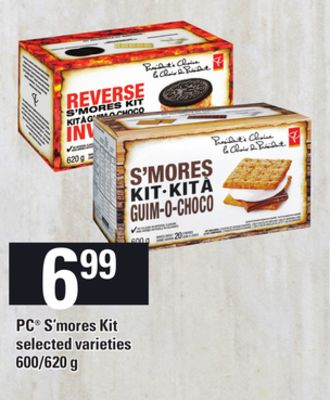 PC S'mores Kit - 600/620 g