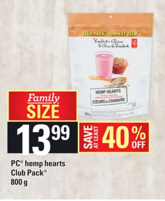 PC Hemp Hearts - 800 g