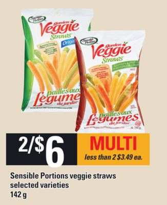 Sensible Portions Veggie Straws - 142g