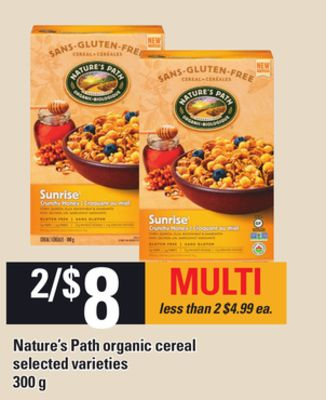 Nature's Path Organic Cereal - 300g