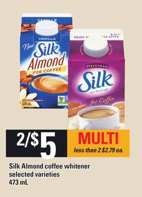 Silk Almond Coffee Whitener