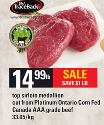 Top Sirloin Medallion