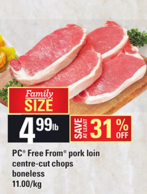 PC Free From Pork Loin