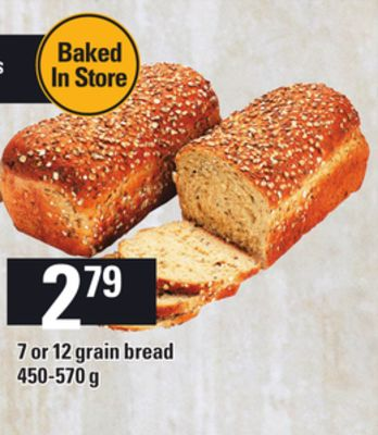 7 Or 12 Grain Bread - 450-570 g