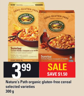 Nature's Path Organic Gluten-free Cereal - 300 g