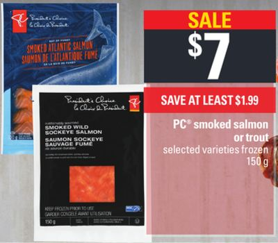 PC Smoked Salmon Or Trout - 150 g