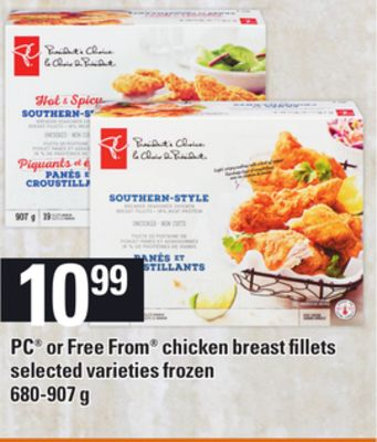 PC Or Free From Chicken Breast Fillets - 680-907 g
