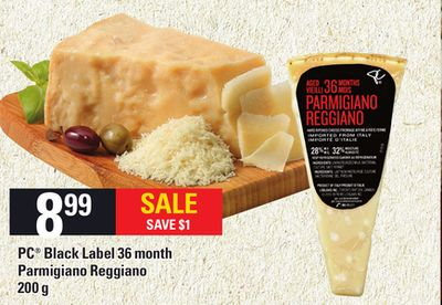 PC Black Label 36 Month Parmigiano Reggiano - 200 g