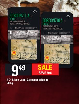 PC Black Label Gorgonzola Dolce