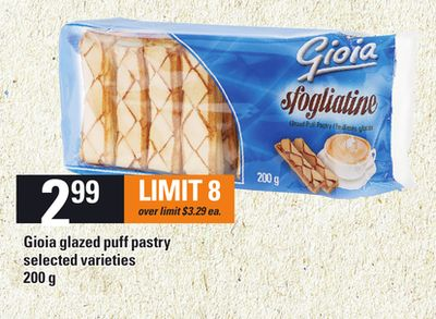 Gioia Glazed Puff Pastry - 200 g