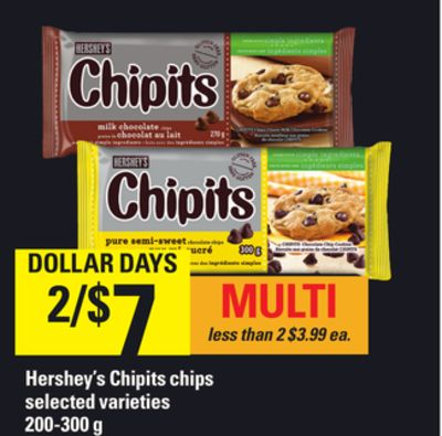 Hershey's Chipits Chips - 200-300 g