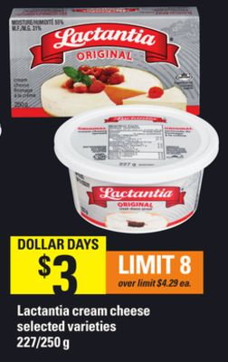 Lactantia Cream Cheese - 227/250 g