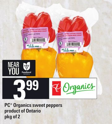 PC Organics Sweet Peppers