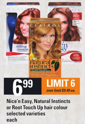 Nice'n Easy - Natural Instincts Or Root Touch Up Hair Colour
