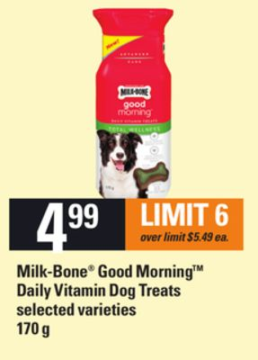Milk-bone Good Morning Daily Vitamin Dog Treats - 170 g