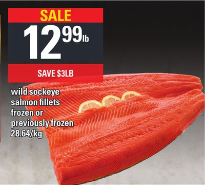 Wild Sockeye Salmon Fillets