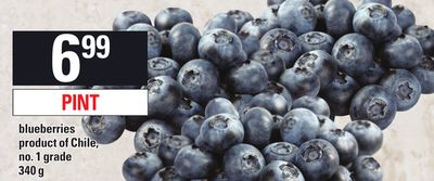 Blueberries Product Of Chile - 340 g