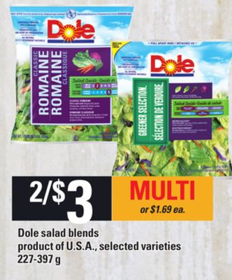 Dole Salad Blends - 227-397 g