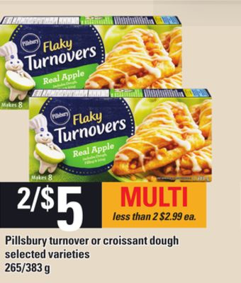 Pillsbury Turnover Or Croissant Dough - 265/383 g