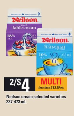 Neilson Cream - 237-473 mL
