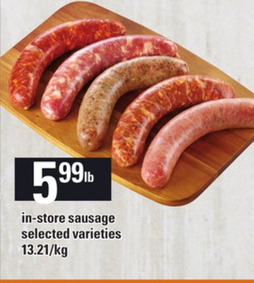 In-store Sausage