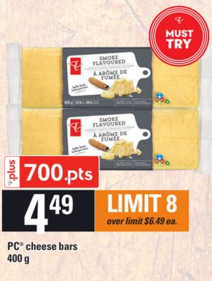 PC Cheese Bars - 400 g
