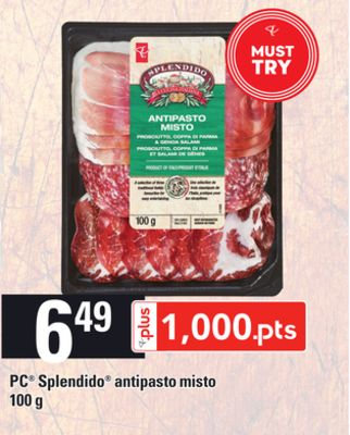 PC Splendido Antipasto Misto - 100 G