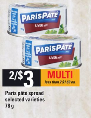 Paris Pâté Spread - 78 g