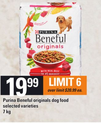 Purina Beneful Originals Dog Food - 7 Kg