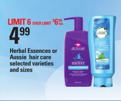 Herbal Essences Or Aussie Hair Care