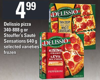 Delissio Pizza - 340-888 g Or Stouffer's Sauté Sensations - 640 g