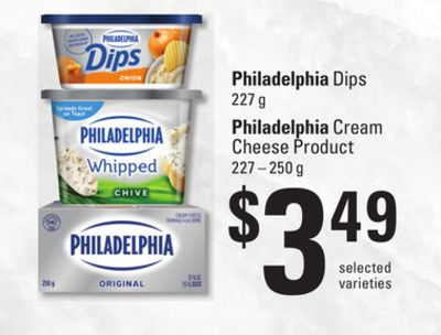 Philadelphia Dips 227 g - Philadelphia Cream Cheese Product - 227 – 250 g