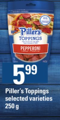 Piller's Toppings - 250 g