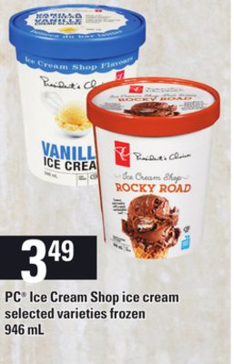 PC Ice Cream Shop Ice Cream - 946 mL