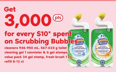 Scrubbing Bubbles Cleaners 946-950 Ml - 567-623 G Toilet Cleaning Gel 1 Cannister & 6 Gel Stamps - Value Pack - 24 Gel Stamp - Fresh Brush - 1 Ea - Refill - 8-12 Ct