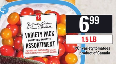 PC Variety Tomatoes - 1.5 Lb
