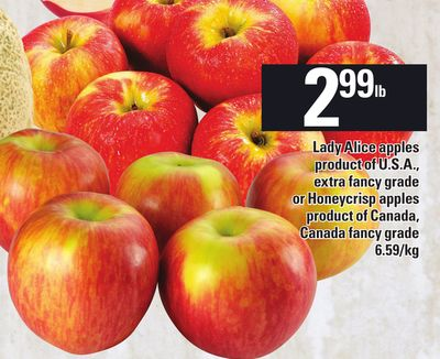 Lady Alice Apples Or Honeycrisp Apples