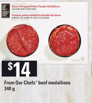 From Our Chefs Beef Medallions - 340 g