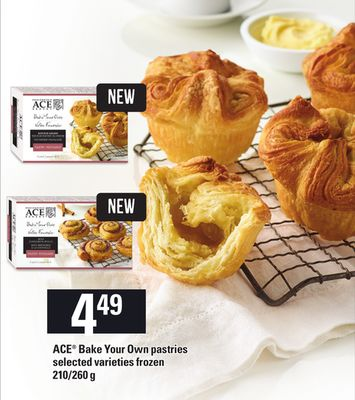 Ace Bake Your Own Pastries - 210/260 g