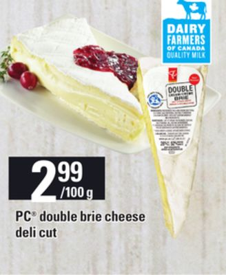 PC Double Brie Cheese