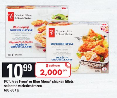PC - Free From Or Blue Menu Chicken Fillets